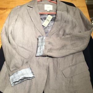 Women's LOFT blazer - 4P - taupe